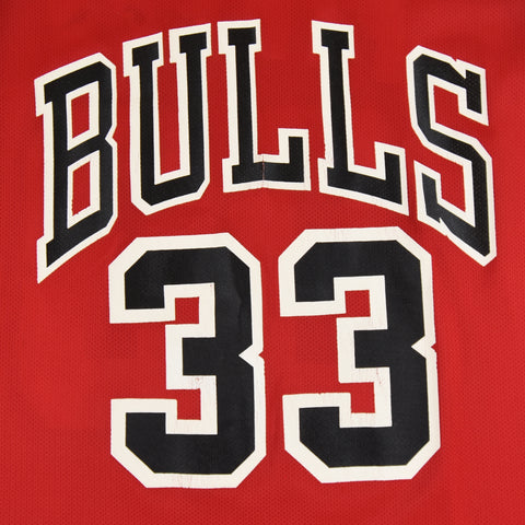 90'S NBA CHAMPION CHICAGO BULLS #33 SCOTTIE PIPPEN - ADULT L / SZ 48