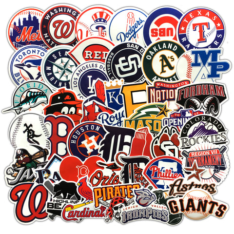 MLB Team Logo Stickers