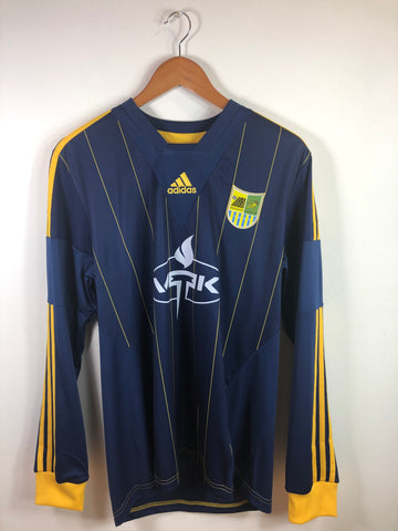 2013-14 Metalist Kharkiv Player Issue Away L/S Shirt Edmar #8 - Adult L