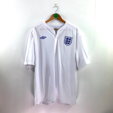 2010/11 England Home Shirt - Adult XL