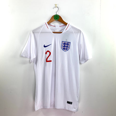 2018 England Home Shirt - Adult M