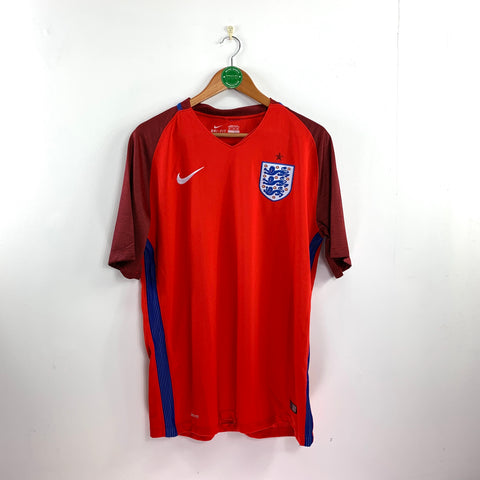 2016 England Away Shirt - Adult XL