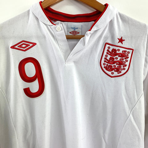 2012 England Home Shirt - Adult M