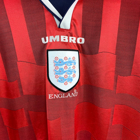 1997/99 England Away Shirt - Adult XL