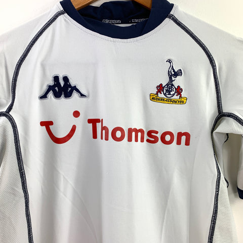 2002-04 Tottenham Home Shirt - Youth XL
