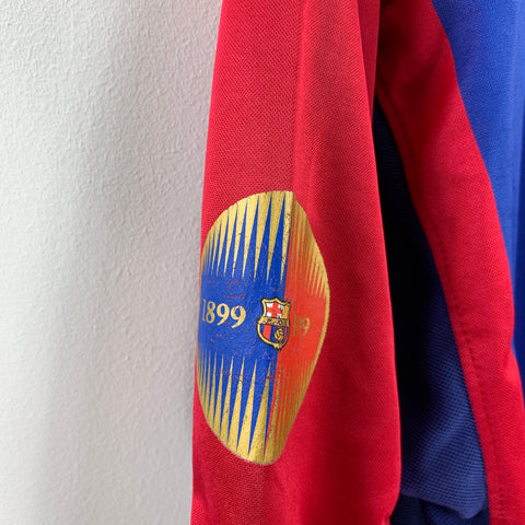 2000/01 Barcelona Home w/ centenary badge - Adult L