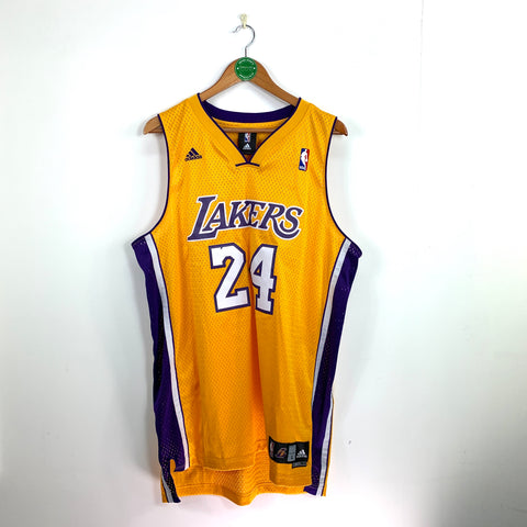 LA LAKERS ADIDAS HOME KOBE #24 - Adult L