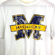 Michigan Wolverines Mens Short Sleeve Tshirt - Adult L BNWT
