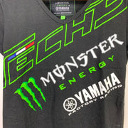 Monster Energy Yamaha Tech 3 Ladies V Neck Tee - Ladies Small BNWT