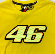 OFFICIAL VR46 TSHIRT - YELLOW ADULT XL BNWT