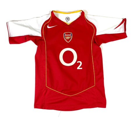 2004/05 Arsenal Home Boys - Youth Medium