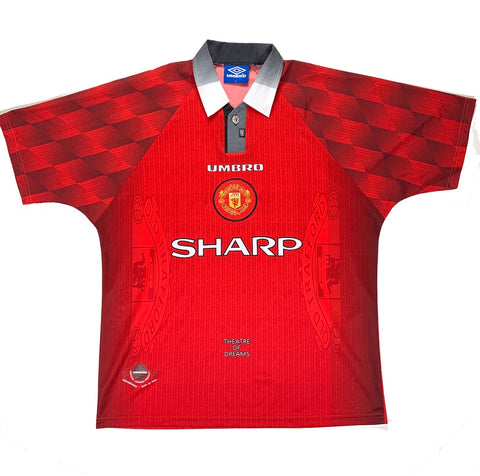 1996/98 Manchester United Home - Adult L