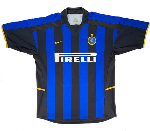2002 Inter Milan Home - Fabio Cannavaro - Adult L