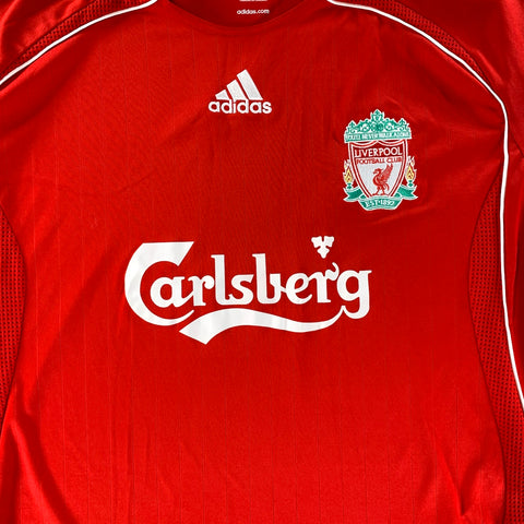 2006/08 Liverpool Home Shirt - Adult XL
