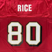 SAN FRANCISCO 49ERS #80 JERRY RICE – LADIES L (14-16)