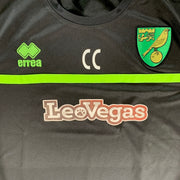 2017/18 NORWICH CITY FC STAFF TRAINING SHIRT - ADULT M