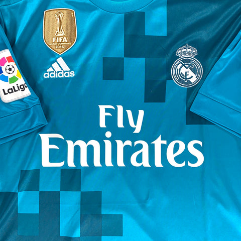 2017-18 REAL MADRID #11 BALE THIRD SHIRT - ADULT L