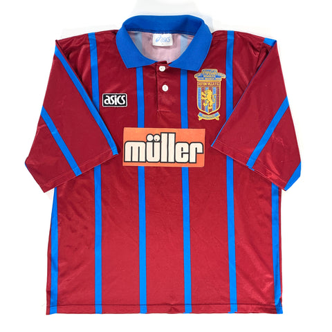 1994 ASTON VILLA 'COCA-COLA CUP FINAL WINNERS' HOME SHIRT - ADULT XL