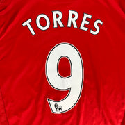 2008-10 LIVERPOOL HOME #9 TORRES - ADULT M