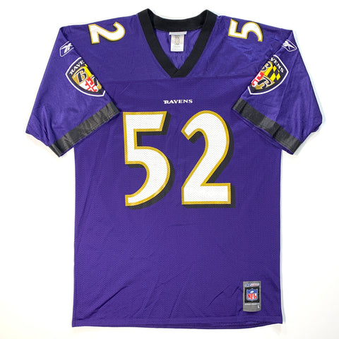 BALTIMORE RAVENS REEBOK #52 - RAY LEWIS - ADULT L