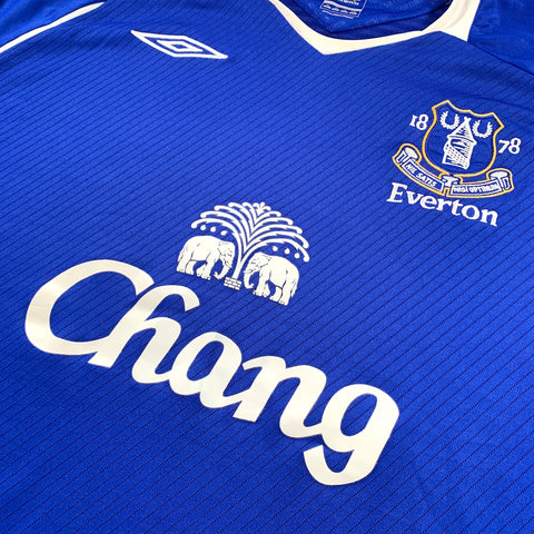2008-09 EVERTON HOME UMBRO - ADULT XL
