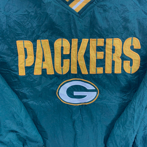 NFL GREEN BAY PACKERS CHAMPION PULL OVER - ADULT M