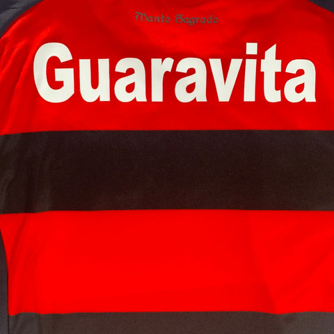 2015-16 FLAMENGO HOME ADIDAS - ADULT L