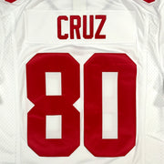 New York Giants Nike Away Stitched #80 Cruz - Adult L BN without tags