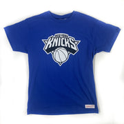 NEW YORK KNICKS MITCHELL & NESS TSHIRT - ADULT M BNWT