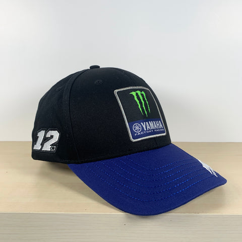M1 Yamaha Factory Racing Team Moto GP Cap Official 2019