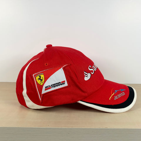 2013 FERNANDO ALONSO OFFICIAL PUMA FERRARI CAP - BN without tags