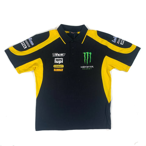 OFFICIAL MONSTER YAMAHA TECH 3 POLO SHIRT - ADULT XL BNWT