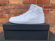 Air Jordan 1 Mid White  - UK 10 BNIB
