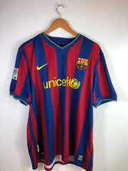 2007/08 Barcelona Home - Henry Adult XL