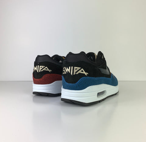 2019 Nike Air Max 1 Premium Ltd Edition X De'Aaron Fox 'Swipa' - UK 10