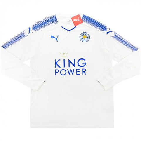 2017-18 LEICESTER THIRD L/S SHIRT BNWT - ADULT XL