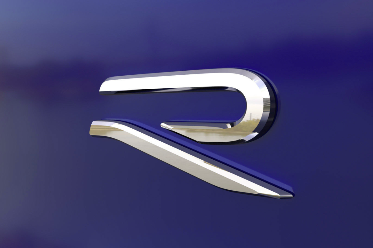 VW announces new 'R' logo