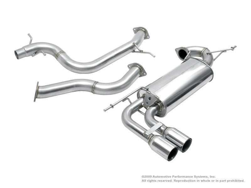 NEUSPEED Stainless Steel Cat-Back Exhaust [sku] - NEUSPEED