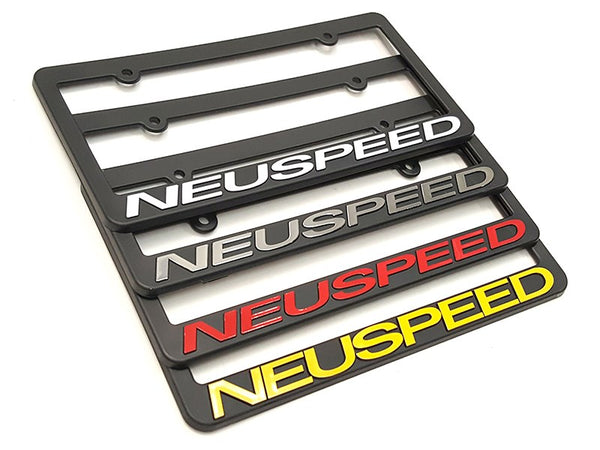 NEUSPEED License Plate Frame [sku] - NEUSPEED