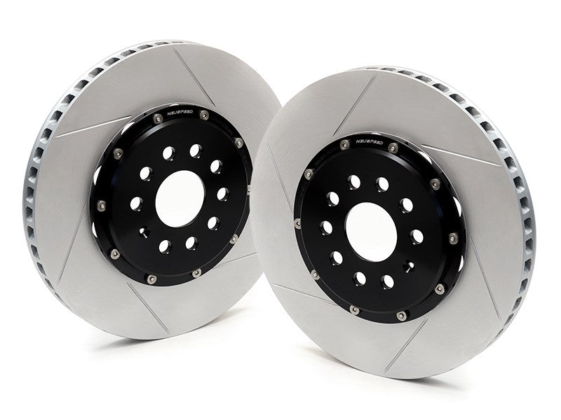 NEUSPEED 2-Piece Brake Rotor Kit - Front 340mm [sku] - NEUSPEED