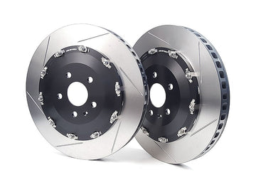 NEUSPEED 2-Piece Front Brake Rotor Kit - 370mm