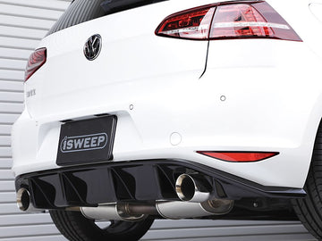 iSWEEP Mk7 GTI DTM Rear Diffuser