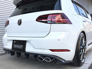 iSWEEP Mk7.5 Golf R DTM Rear Diffuser