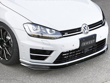 iSWEEP Mk7 Golf R Front Lip Spoiler