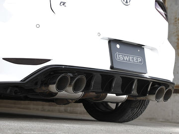 iSWEEP Mk7 Golf R DTM Rear Diffuser