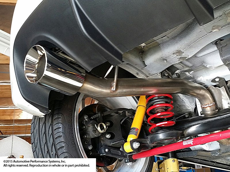 Neu-F 500 Turbo Race Exhaust [sku] - NEUSPEED