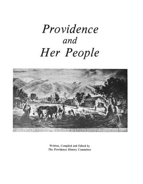 Providence and Her People Title Page