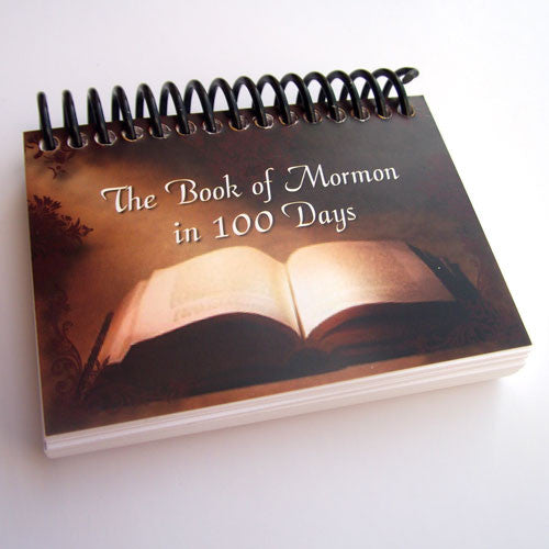 The Book of Mormon in 100 Days (Sold in a set of 6)