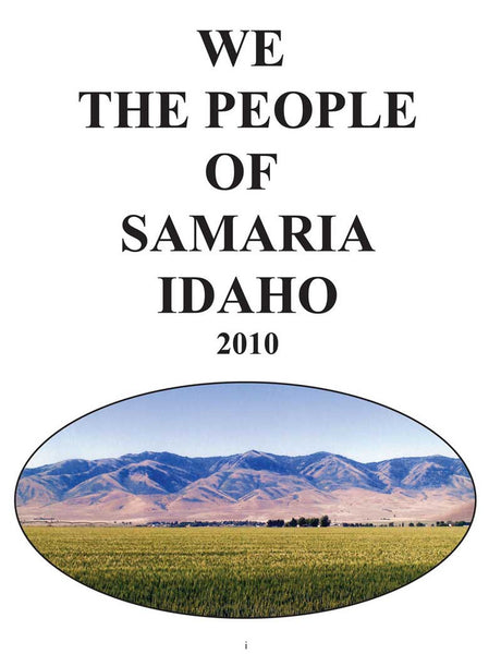 History of Samaria, Idaho