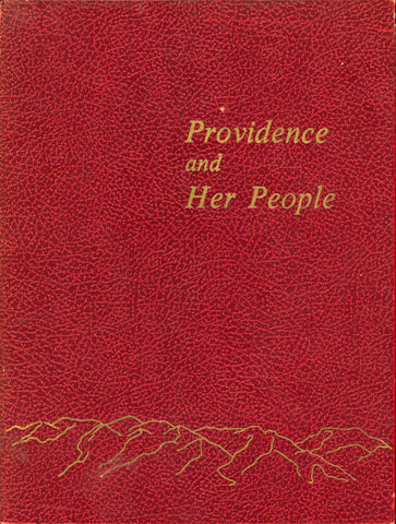 Providence and Her People, a history of Providence, Utah 1857-1974 Cover